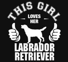 This Girl Loves Her Labrador Retriever by 2E1K