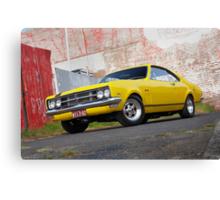 Yellow Holden HK Monaro Canvas Print