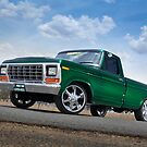 Green Ford F100 Pickup by John Jovic