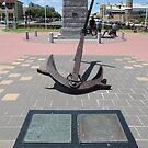 Historical Anchor & Plaques! Semaphore Foreshore, Adelaide Beach. by Rita Blom