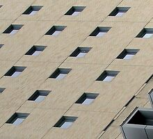 windows abstract by Bruce  Dickson