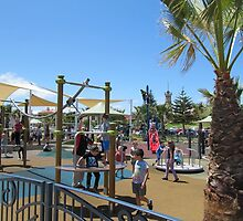 Colourful Play Area in the Sun! Semaphore Foreshore, S.A.  by Rita Blom