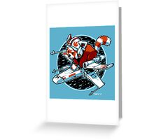 Red Panda, Standing By Greeting Card