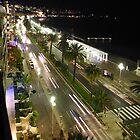 Promenade des Anglais, Nice France by Paul Playford