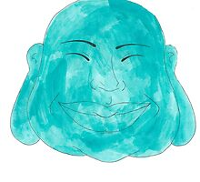 Happy Jade Buddha by menaguy