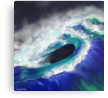 The Ocean Moves Canvas Print