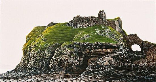 The Ruin of Dunscaith Castle by Jason Moad
