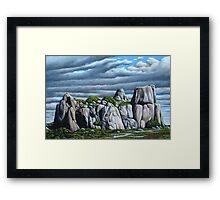 The Outcrop Framed Print