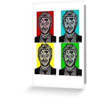 Zombie Chris Hardwick @nerdist fanart Greeting Card