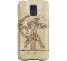 Vitruvian Hunter (NO TEXT) Samsung Galaxy Case/Skin