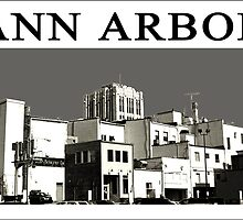 ANN ARBOR POSTCARD NO 1 by Kasart21