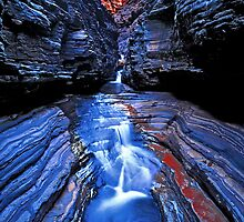 Hancock Blue #1, Karijini NP by Mark Boyle