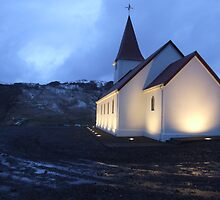 Vik Church, Iceland by Simon Mears
