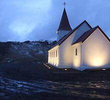 Vik Church, Iceland by Simon Mears
