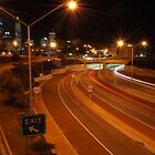 Perth by night. by Paul Elward