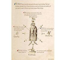 Fiore dei Liberi Getty Segno (English) Photographic Print