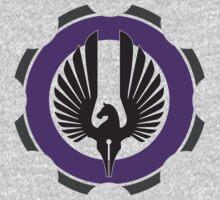 DarkHorse Design Logo Purple by DarkHorseDesign