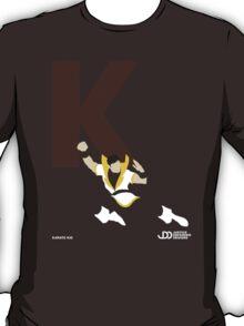 Karate Kid - Superhero Minimalist Alphabet Clothing T-Shirt