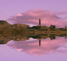 Calton Hill & Arthur Seat by Chris Clark