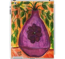 Plant In Purple Vase iPad Case/Skin