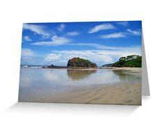 Playa Grande Greeting Card