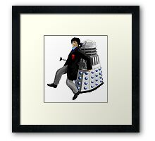 Doctor Who #2 and Dalek Framed Print