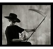 Death and the Cowboy Photographic Print