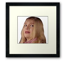 Wtf - White Chicks Framed Print