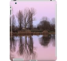 reflections on the lake iPad Case/Skin