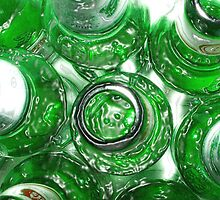 Ten Green Bottles by carrollcreative