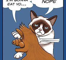 Grumpy revenge by Nasken