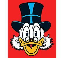 Scrooge McDuck Photographic Print