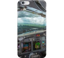 Stormy approach towards Amsterdam iPhone Case/Skin