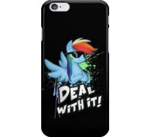 My Little Pony Rainbow Dash - Deal With It iPhone Case/Skin