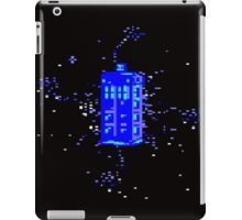 Pixel TARDIS iPad Case/Skin