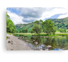 Brothers Water Lake District Canvas Print