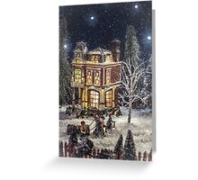 Winter Glow Greeting Card