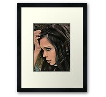 Green Mind Framed Print