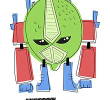 Optimus Lime. by Megan Kelly