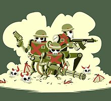 Robot Army by Megan Kelly
