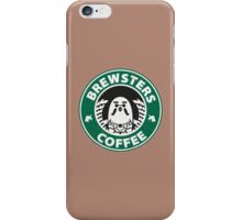Brewsters Coffee (distressed) iPhone Case/Skin