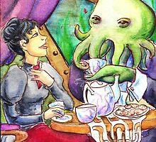 Taking Tea with Cthulu by FoolishMortal