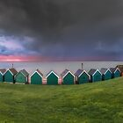 Gurnard Bay Panorama #2 by manateevoyager
