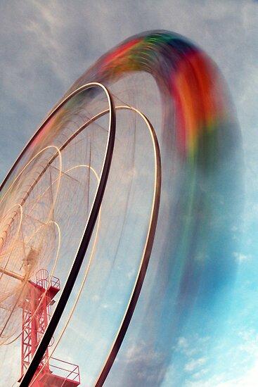 The Ferris Wheel by Steven  Lippis