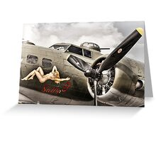 Sally B Greeting Card