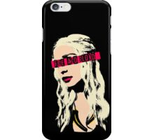 The PopMother of Dragons iPhone Case/Skin