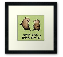 Bear Booty Dance Framed Print