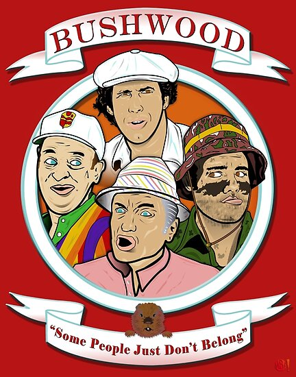 Caddyshack - Bushwood by Michael Donnellan