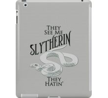 They See Me Slytherin iPad Case/Skin