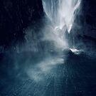 Bowen Falls, New Zealand (2) by Karin Elizabeth